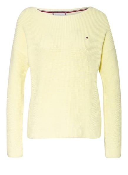 TOMMY HILFIGER Pullover HAYANA, Farbe: HELLGELB (Bild 1)
