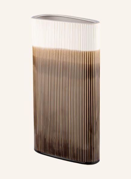 present time Vase TRIANGLE, Farbe: CREME/ BRAUN/ HELLORANGE (Bild 1)