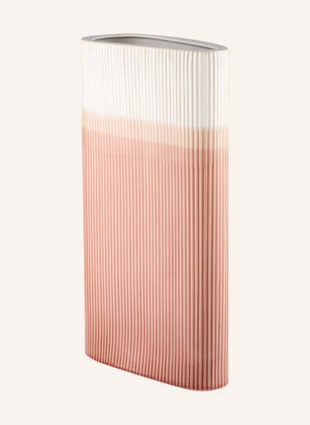 present time Vase TRIANGLE, Farbe: ROSA/ HELLORANGE/ WEISS (Bild 1)