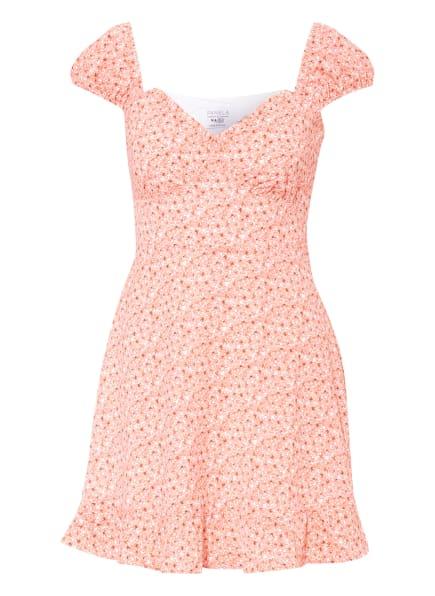 NA-KD Kleid, Farbe: WEISS/ LACHS (Bild 1)