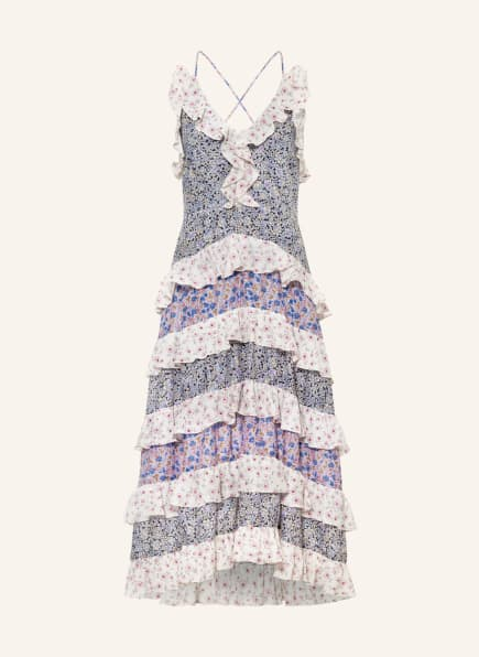 maje Kleid RISSOLA, Farbe: BLAU/ WEISS/ ROSA (Bild 1)
