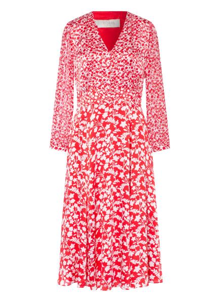 HOBBS Kleid ROSIE, Farbe: WEISS/ ROT (Bild 1)