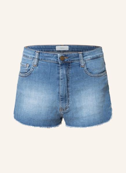 ba&sh Jeans-Shorts LUEGO, Farbe: BLUE LIGHTUSEDBLUE (Bild 1)