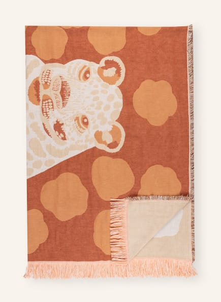 marimekko Plaid KAKSOSET, Farbe: CAMEL/ ORANGE/ DUNKELROT (Bild 1)