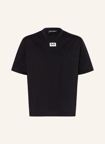 DOLCE&GABBANA Oversized-Shirt, Farbe: SCHWARZ (Bild 1)