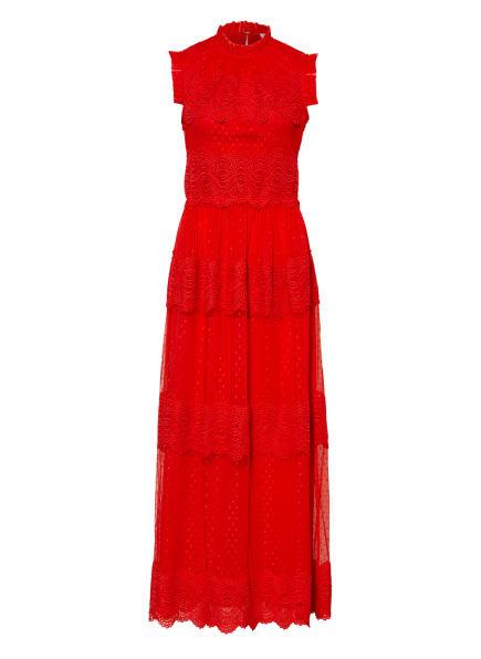 damsel in a dress Kleid DARCIE mit Spitze, Farbe: ROT (Bild 1)