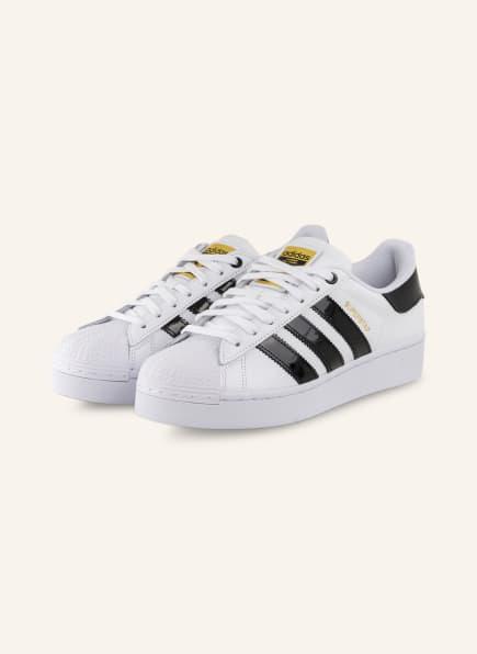 adidas Originals Plateau-Sneaker SUPERSTAR BOLD, Farbe: WEISS/ SCHWARZ/ GOLD (Bild 1)
