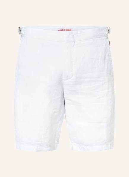 ORLEBAR BROWN Leinenshorts NORWICH LINEN , Farbe: WHITE (Bild 1)