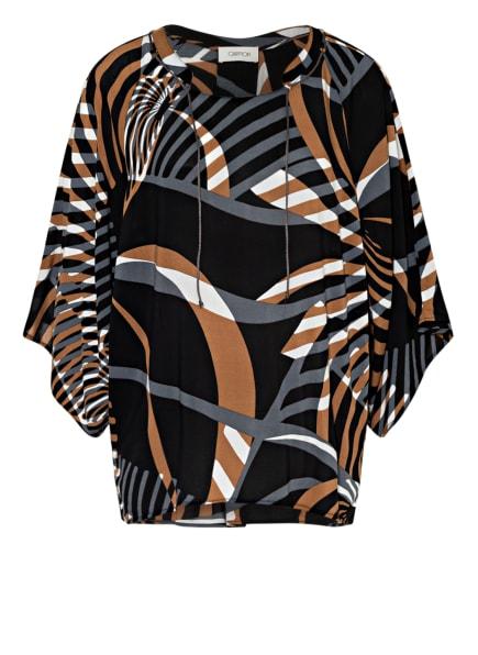CARTOON Blusenshirt, Farbe: SCHWARZ/ WEISS/ BRAUN (Bild 1)