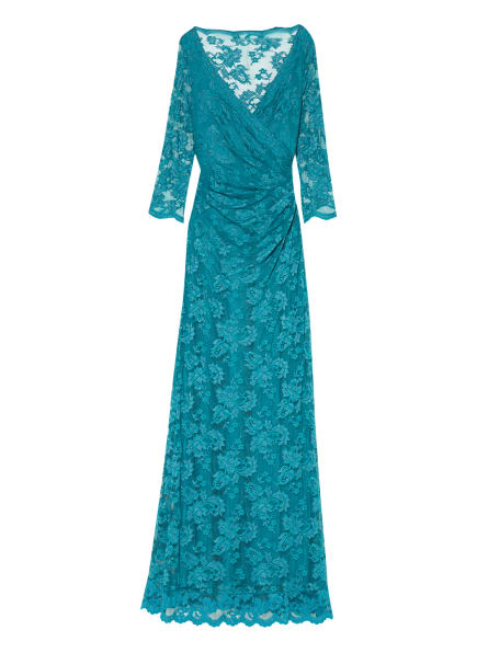 OLVI'S Abendkleid mit 3/4-Arm, Farbe: TÜRKIS (Bild 1)