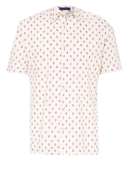 TED BAKER Kurzarm-Hemd GINTON Regular Fit , Farbe: ECRU/ PINK (Bild 1)