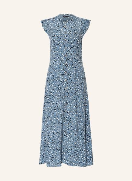 WHISTLES Kleid, Farbe: HELLBLAU/ SCHWARZ/ WEISS (Bild 1)