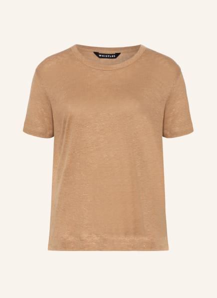 WHISTLES T-Shirt aus Leinen, Farbe: BEIGE (Bild 1)