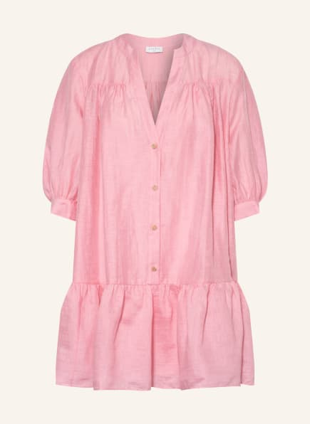 SANDRO Leinenkleid mit 3/4-Arm , Farbe: ROSA (Bild 1)