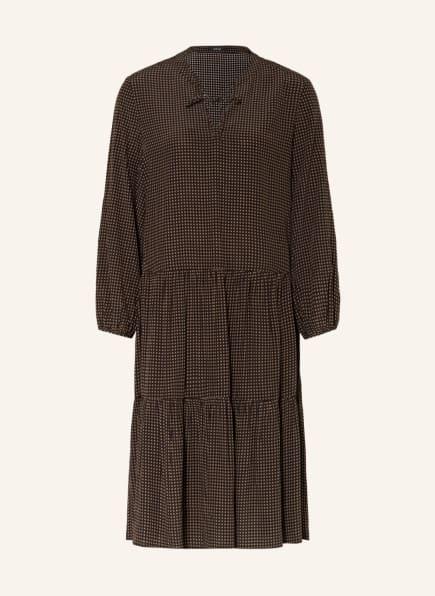 OPUS Kleid WIDANIA, Farbe: SCHWARZ/ BRAUN (Bild 1)