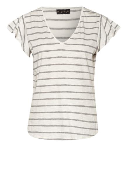 Phase Eight T-Shirt SIDO, Farbe: HELLGRAU/ WEISS (Bild 1)