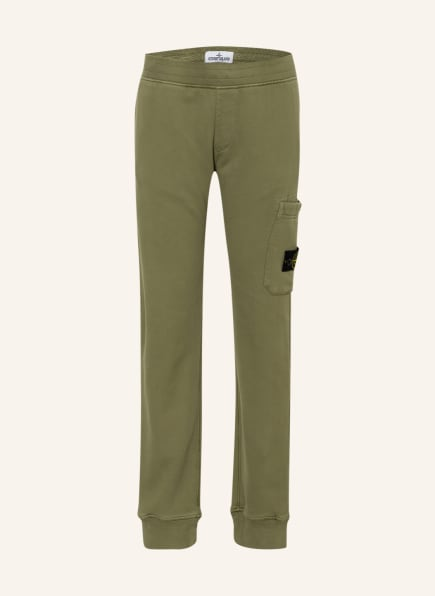STONE ISLAND JUNIOR Sweatpants, Farbe: OLIV (Bild 1)