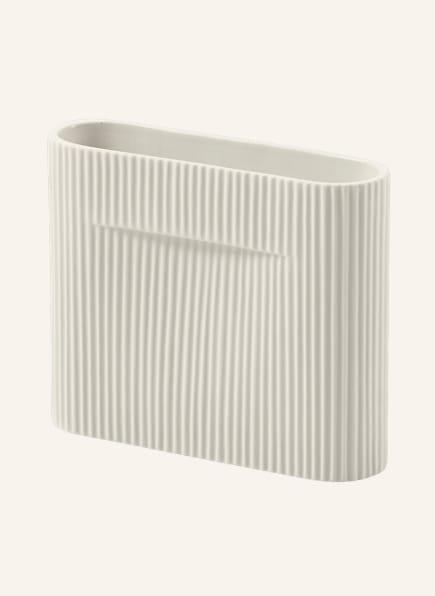 MUUTO Vase RIDGE, Farbe: CREME (Bild 1)