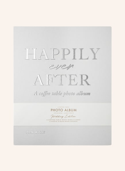 PRINTWORKS Fotoalbum HAPPILY EVER AFTER , Farbe: CREME (Bild 1)