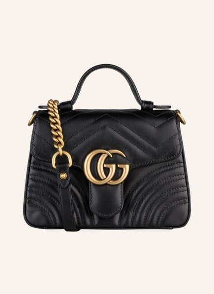 GUCCI Handtasche GG MARMONT MINI, Farbe: SCHWARZ (Bild 1)