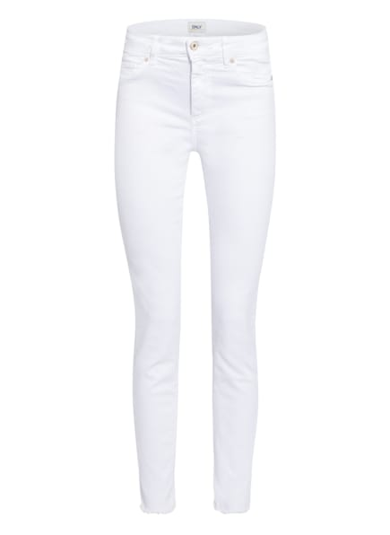 ONLY Skinny Jeans, Farbe: WHITE (Bild 1)