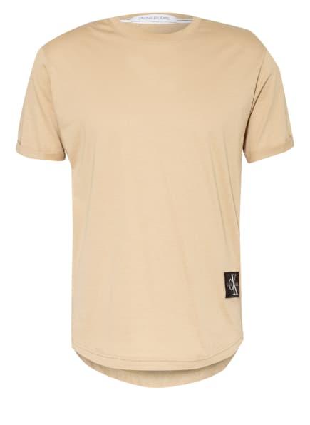 Calvin Klein Jeans T-Shirt , Farbe: CAMEL (Bild 1)