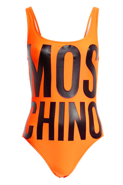 MOSCHINO Badeanzug , Farbe: ORANGE (Bild 1)