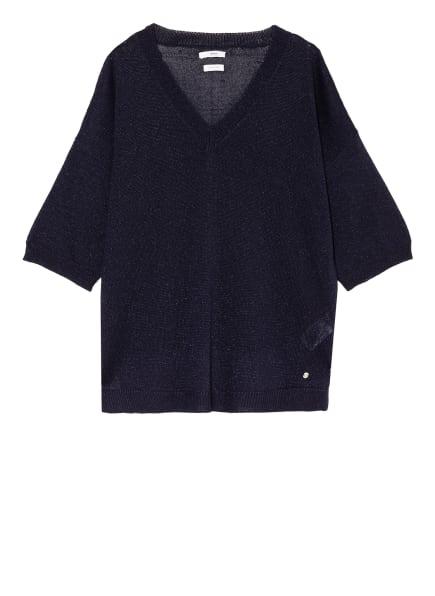 BRAX Kurzarm-Pullover NALA, Farbe: DUNKELBLAU (Bild 1)