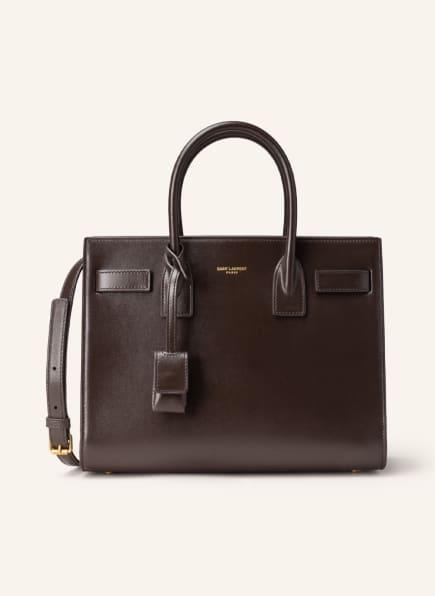 SAINT LAURENT Handtasche SAC DE JOUR, Farbe: DUNKELBRAUN (Bild 1)