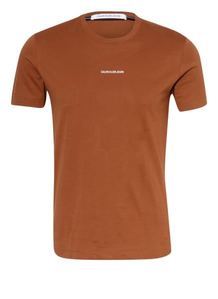 Calvin Klein Jeans T-Shirt , Farbe: BRAUN (Bild 1)