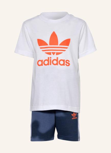 adidas Originals Set: T-Shirt und Shorts, Farbe: WEISS (Bild 1)