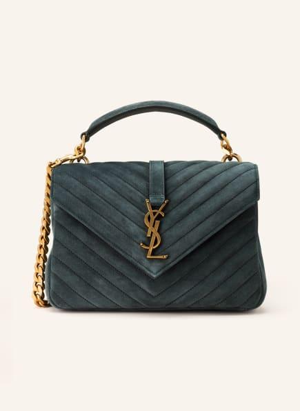 SAINT LAURENT Handtasche COLLEGE MEDIUM, Farbe: DUNKELBLAU (Bild 1)
