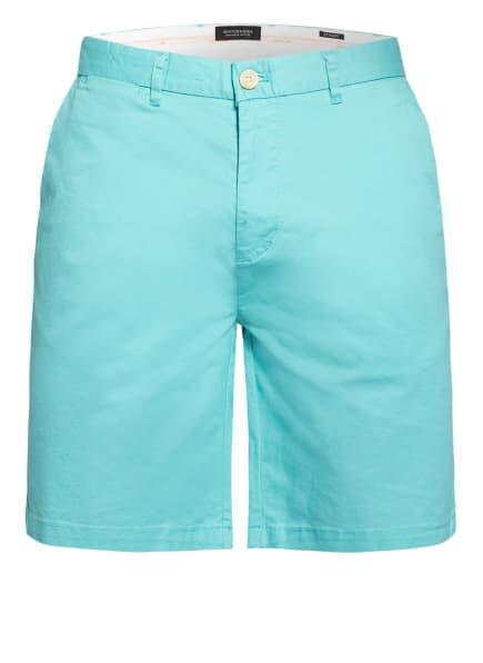 SCOTCH & SODA Chino-Shorts STUART Regular Slim Fit, Farbe: TÜRKIS (Bild 1)