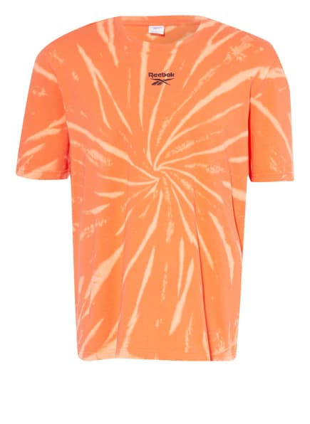 Reebok CLASSIC T-Shirt CLASSICS TIE DYE, Farbe: ORANGE/ HELLORANGE (Bild 1)