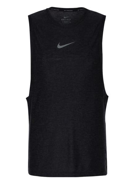 Nike Tanktop PRO, Farbe: SCHWARZ/ DUNKELGRAU (Bild 1)