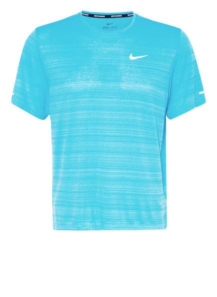 Nike Laufshirt DRI-FIT MILER, Farbe: HELLBLAU (Bild 1)