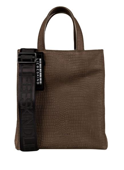 LIEBESKIND Berlin Handtasche TOTE SMALL, Farbe: KHAKI (Bild 1)