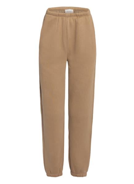 American Vintage Sweatpants IKATOWN, Farbe: HELLBRAUN (Bild 1)