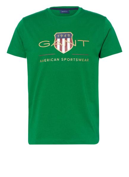GANT T-Shirt, Farbe: GRÜN (Bild 1)