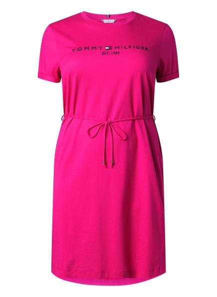 TOMMY HILFIGER Jerseykleid, Farbe: PINK (Bild 1)