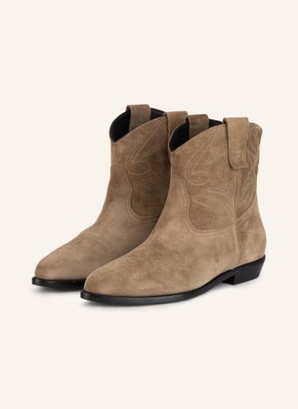 CLOSED Cowboy Boots, Farbe: BEIGE (Bild 1)