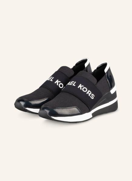 MICHAEL KORS Sneaker FELIX, Farbe: SCHWARZ/ WEISS (Bild 1)