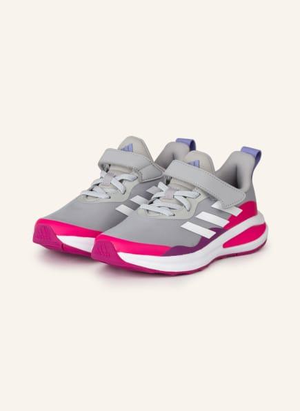 adidas Sneaker FORTARUN , Farbe: GRAU/ PINK/ WEISS (Bild 1)