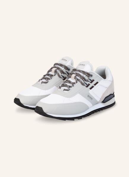 BOSS Sneaker PARKOUR RUNN, Farbe: WEISS/ HELLGRAU (Bild 1)