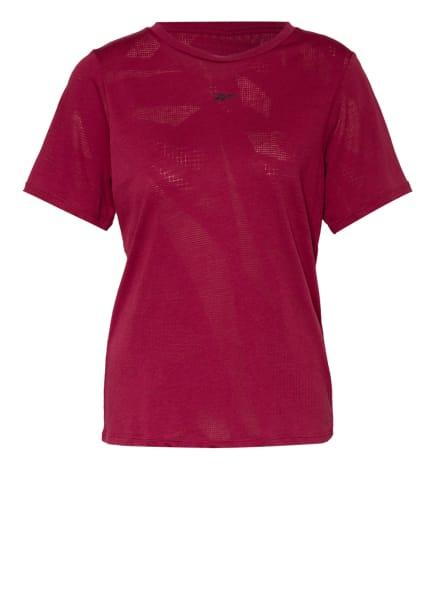 Reebok T-Shirt BURNOUT, Farbe: DUNKELROT (Bild 1)