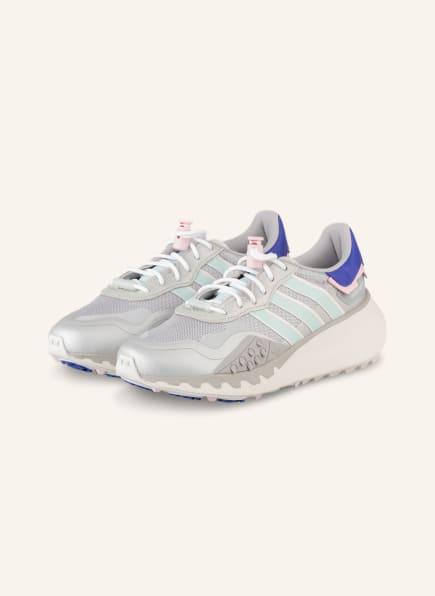 adidas Originals Plateau-Sneaker CHOIGO, Farbe: SILBER/ MINT/ HELLROSA (Bild 1)