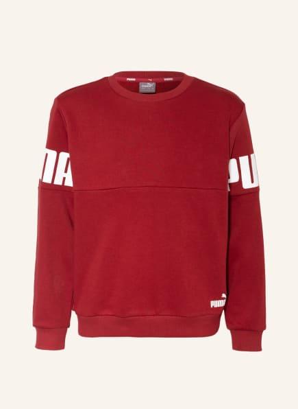 PUMA Sweatshirt, Farbe: DUNKELROT (Bild 1)