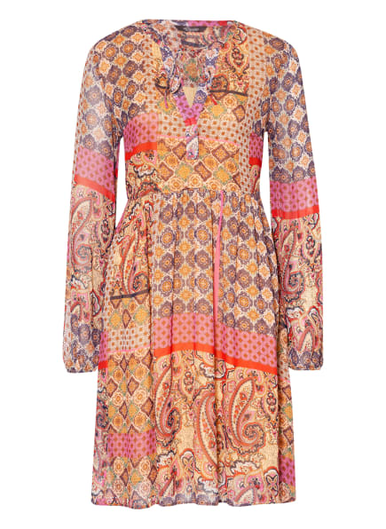 Princess GOES HOLLYWOOD Kleid, Farbe: DUNKELGELB/ DUNKELLILA/ ORANGE (Bild 1)