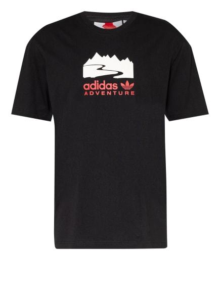 adidas Originals T-Shirt ADVENTURE, Farbe: SCHWARZ (Bild 1)