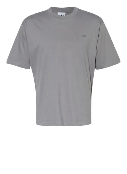 adidas Originals T-Shirt ADICOLOR TREFOIL, Farbe: GRAU (Bild 1)
